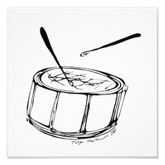 Inkblot Drum-A-Drumming Photograph