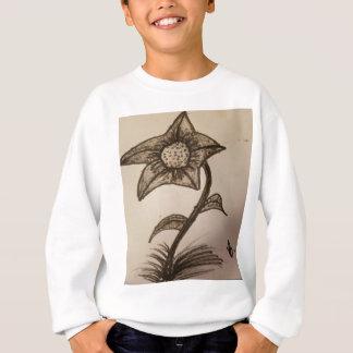 inked flower #1. sweatshirt