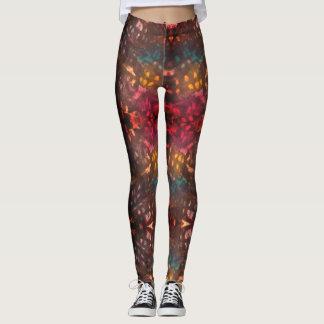 Inked grunge leggings