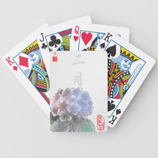 Inked Petals of a Year - February Poker Deck