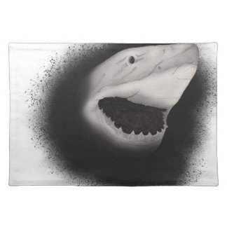 Inked Shark Attack Placemat