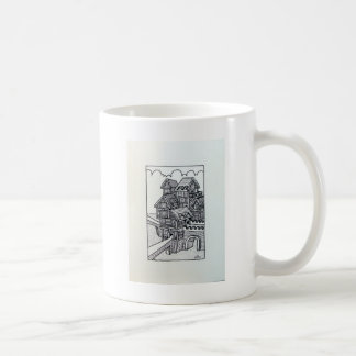 Inkinf 1 D by Piliero Classic White Coffee Mug