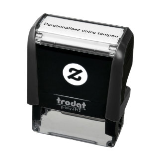 Inking pad to be personalized self-inking stamp