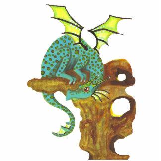Inkling 1 Dragon fantasy art photo sculpture