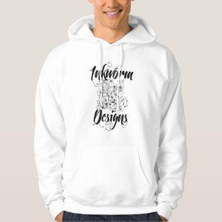 Inkworm Designs Sparrow & Tattoo Machine Hoodie