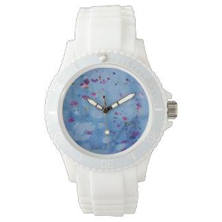 Inky blue watch