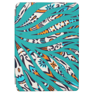 Inky Funky Pattern Art Teal iPad Air Cover