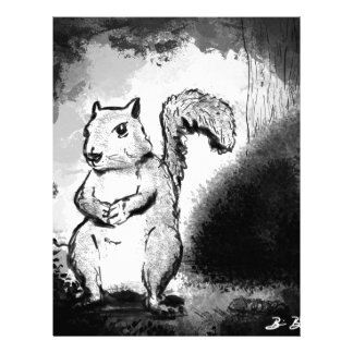Inky Squirrel Letterhead