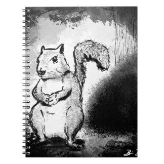 Inky Squirrel Notebook