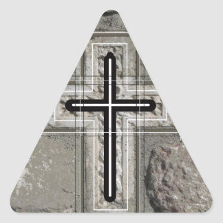 Inlaid in stones. sticker