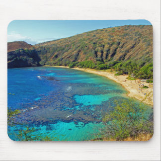 Inland Hanauma Bay 4 Honolulu Oahu Mousepad