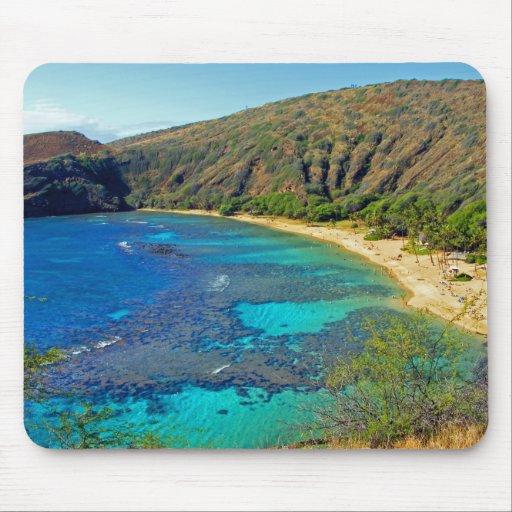 Inland, Hanauma Bay 4, Honolulu, Oahu Mousepad
