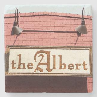 Inman Park, The Albert, Atlanta Marble Coasters Stone Beverage Coaster
