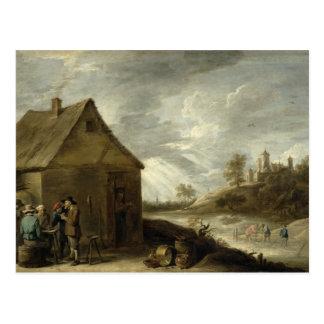 Inn by a River Postcard
