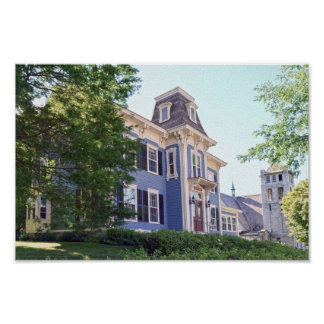 Inn on the Green, Middlebury, Vermont Poster