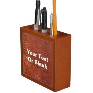 Inner Birch Bark Desk Organizer