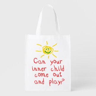 Inner Child Reusable Grocery Bag
