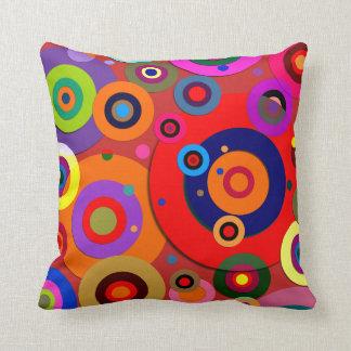 Inner Circles #18 Throw Pillow
