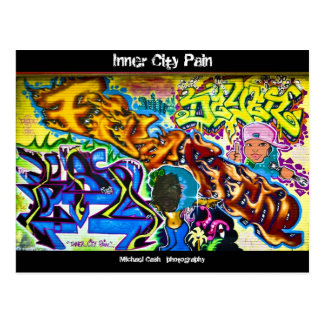 Inner City Pain Postcard