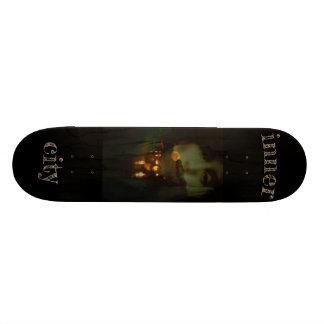 inner city skate board deck