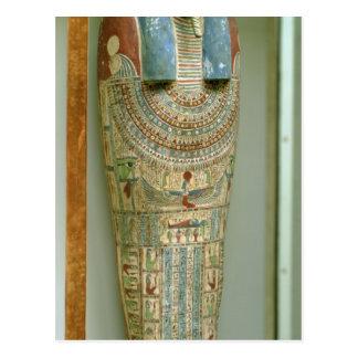 Inner coffin of Djeho, son of Psammetichus, Postcard