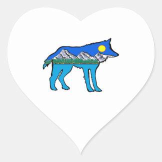 Inner Daydreams Heart Sticker