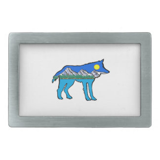 Inner Daydreams Rectangular Belt Buckle