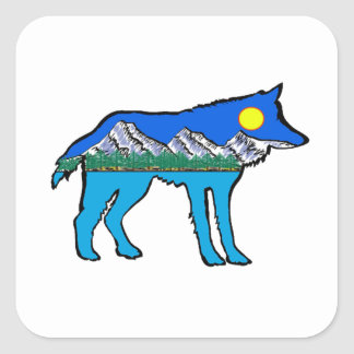 Inner Daydreams Square Sticker