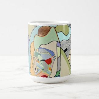 """Inner Face...detail"" by Ruchell Alexander Coffee Mug"