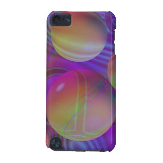 Inner Flow V Abstract Fractal Violet Indigo Galaxy iPod Touch (5th Generation) Cover