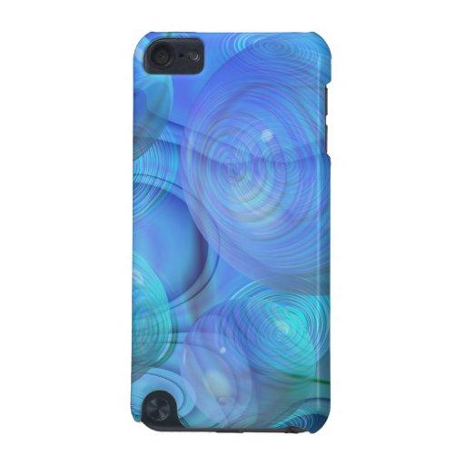 Inner Flow VI – Aqua & Azure Galaxy iPod Touch (5th Generation) Cases
