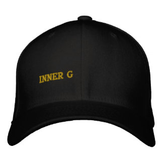 INNER G EMBROIDERED HAT