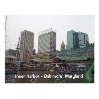 Inner Harbor in Baltimore, Maryland Postcard