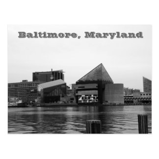 Inner Harbor Post Card