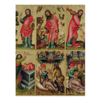 Inner left wing of the High Altar Postcard