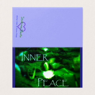INNER PEACE 2x3.5 MINI CARD