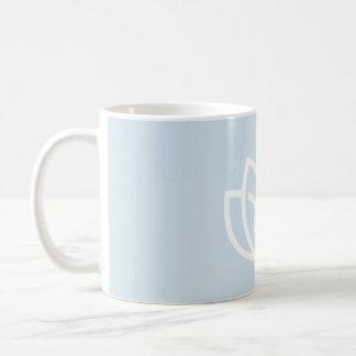 Inner Peace Outer Beauty Logo - Lotus Flower Coffee Mug
