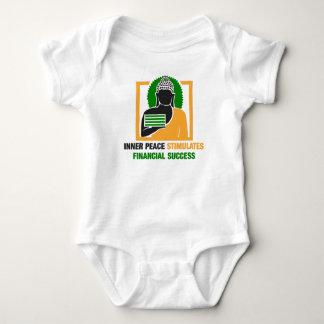 Inner Peace Stimulates Financial Success Baby Bodysuit
