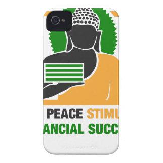 Inner Peace Stimulates Financial Success Case-Mate iPhone 4 Cases
