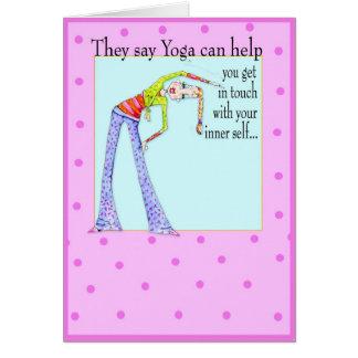 Inner Self Birthday or friendship card