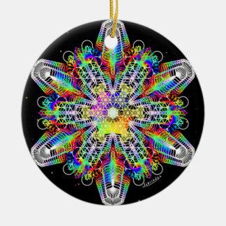 Inner Strength/Deep Peace Ceramic Ornament