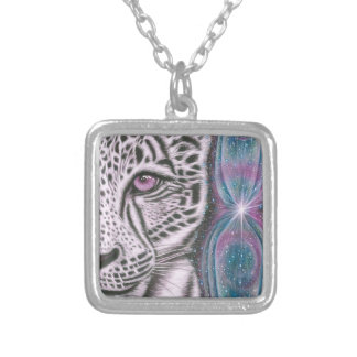 Inner Vision Silver Plated Necklace
