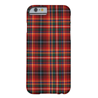 Innes Clan Bright Red Tartan Barely There iPhone 6 Case