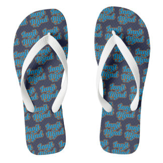 Innit Mind West Country Bristol Dialect Flipflops