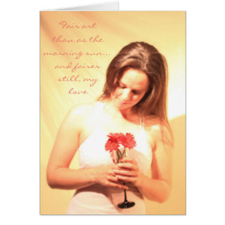 """Innocence & Beauty"" card"