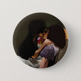Innocence Kiss 2 Inch Round Button