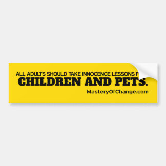 Innocence Stiker Bumper Sticker