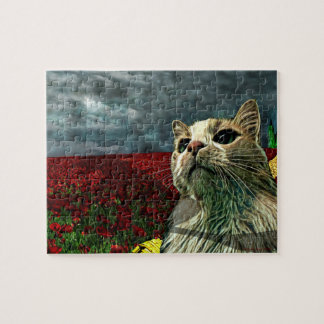 """Innocent Bystander Puzzle, 8"""" x 10"""" (110 pieces) Jigsaw Puzzle"""