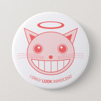 Innocent Cat button