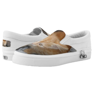 Innocent Cat Custom Zipz Slip On Shoes,Men & Women